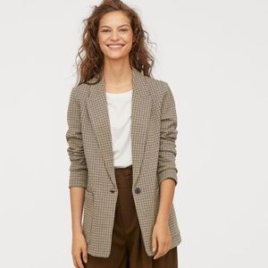 H&M Jersey Blazer Jacket ✨